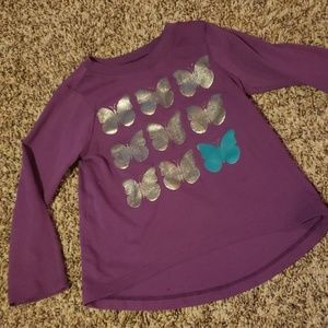 3/$12 Butterfly top